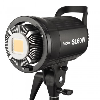 Godox SL-60W LED Video Light Continuous Light 5600K Daylight for Studio Photography Broadcast