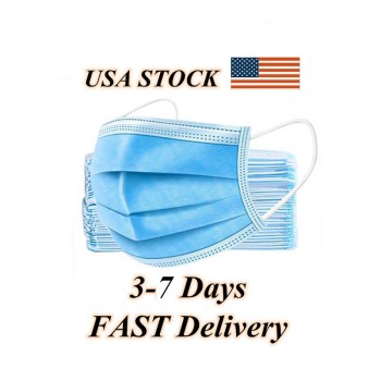 Disposable Face Mask 3Ply (BEF95) Daily Protective Breathable Earloop Mouth Mask (50Pcs)  - US Stock